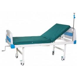 Кровать медицинская А-26 (2-секционная, механическая) Biomed Медицинская мебель ForaMed
