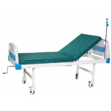 Кровать медицинская А-26 (2-секционная, механическая) Медицинская мебель ForaMed