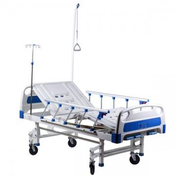 Кровать механическая четырехсекционная HBM-2M Медицинская мебель ForaMed