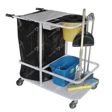 Тележка для уборки помещений ТУП Завет Медицинская мебель ForaMed