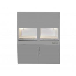 Шкаф вытяжной лабораторный ШВ-2 Завет Медицинская мебель ForaMed