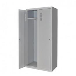 Шкаф для халатов медицинский двухстворчатый ШХМ-2 Завет Медицинская мебель ForaMed
