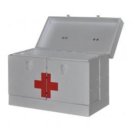 Саквояж алюминиевый для автомобилей скорой помощи УМСП-01 Завет Физиотерапия ForaMed
